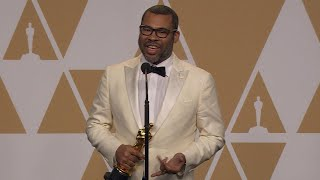 Oscars 2018: Jordan Peele Backstage (FULL PRESS CONFERENCE)