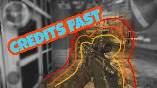 How to get Credits FAST in Bullet Force