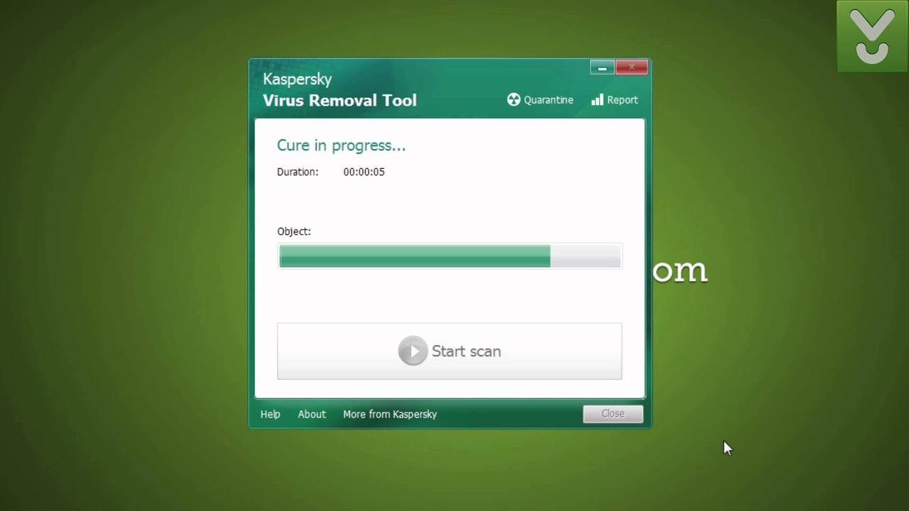 Kaspersky Virus Removal Tool - Protect your PC against viruses - Download  Video Previews