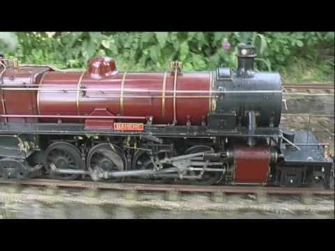 5 inch gauge East African Railway Narrow Gauge Locomotive