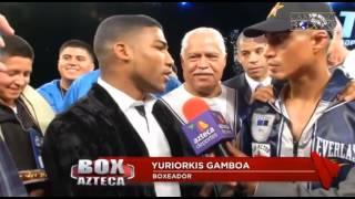 Yuriorkis Gamboa lanzó reto a Miguel Angel Mikey García