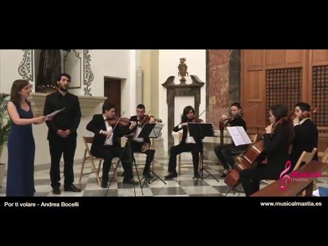Por ti volare - Andrea Bocelli CONVENTO DE LAS ANAS MURCIA BODAS