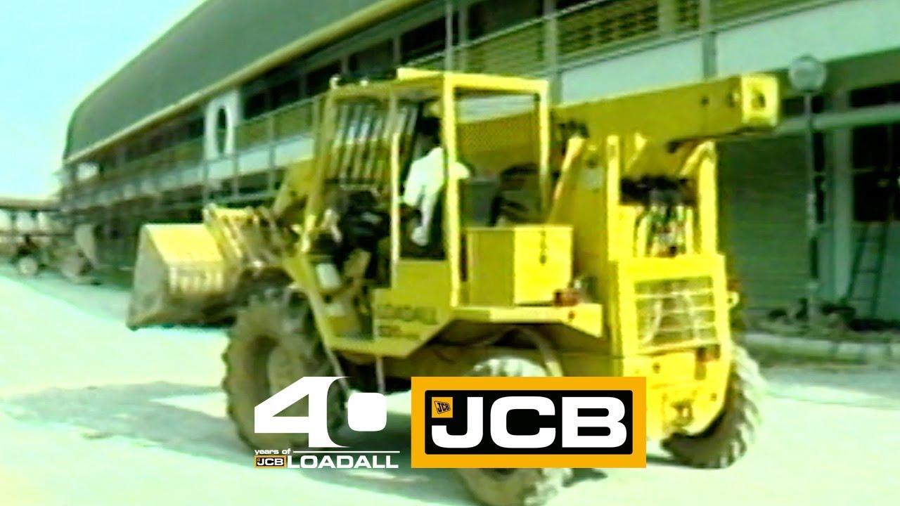 JCB Loadall 520 4HL in Singapore - Celebrating 40 Years of Loadall