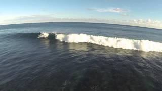 Surfing Bali Green Bowl