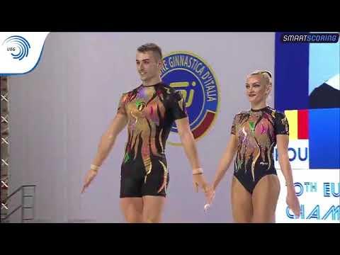 REPLAY: 2017 Aerobics Europeans - Senior FINAL Mixed Pairs, plus medal ceremony