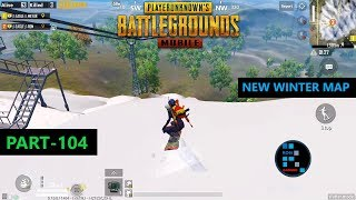 PUBG MOBILE | NEW WINTER MODE IN ERANGEL MAP FUN GAMEPLAY