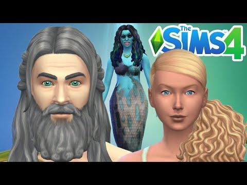 MES SIRÈNES ET TRITONS ! Les Sims 4 : Mes foyers #7