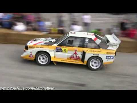 5-Cylinder Madness: Audi Quattro Group-B in Action