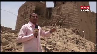 #الجوف ..نازحون من الحرب يعيشون في منازل آيلة للسقوط | تقرير ماجد عياش -  يمن شباب
