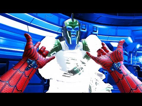 Be Spider-man in Virtual Reality! - MARVEL Powers United VR Gameplay - VR Oculus Rift
