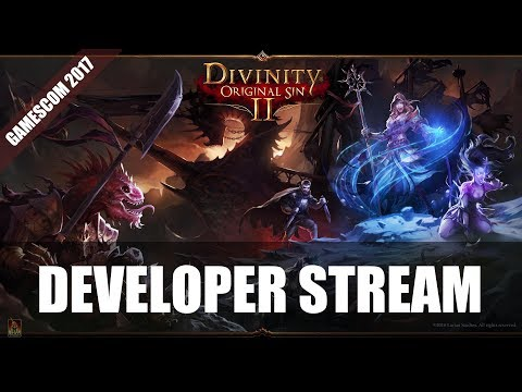 Divinity Original Sin 2 Gameplay Stream | Gamescom 2017 - via Twitch