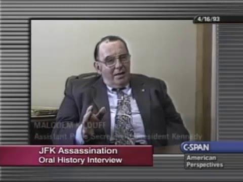 Kennedy Assassination ~ Malcolm Kilduff Interview