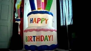 inflatable airblown cake 7 feet tall