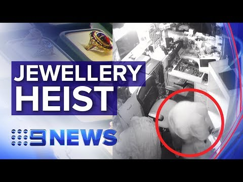 $300k In Jewellery Stolen In Sydney Heist | Nine News Australia