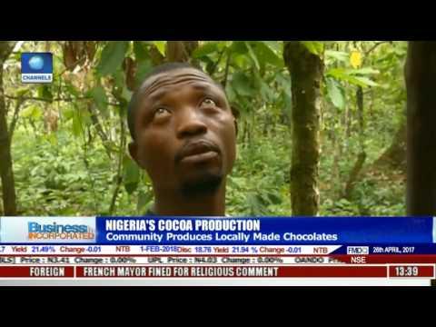 Nigeria's Cocoa Production: Community Produces Locally Made Chocolates