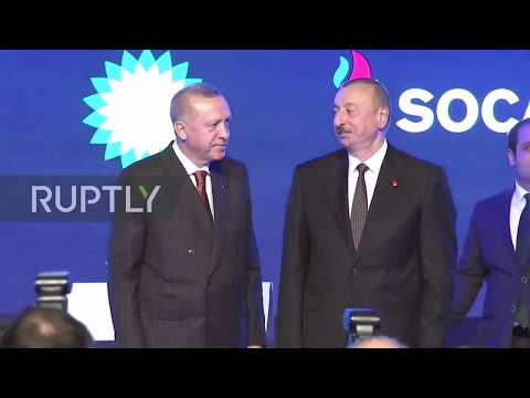 Turkey and Azerbaijan celebrate completion of TANAP gas pipeline to Europe
