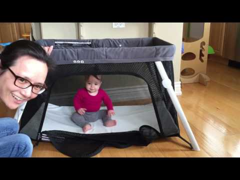 TRAVEL CRIBS   Baby Bjorn Travel Crib Light vs Guava Family Lotus