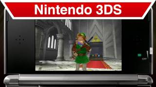 The Legend of Zelda: Ocarina of Time 3D - Nintendo 3DS - New Features Trailer