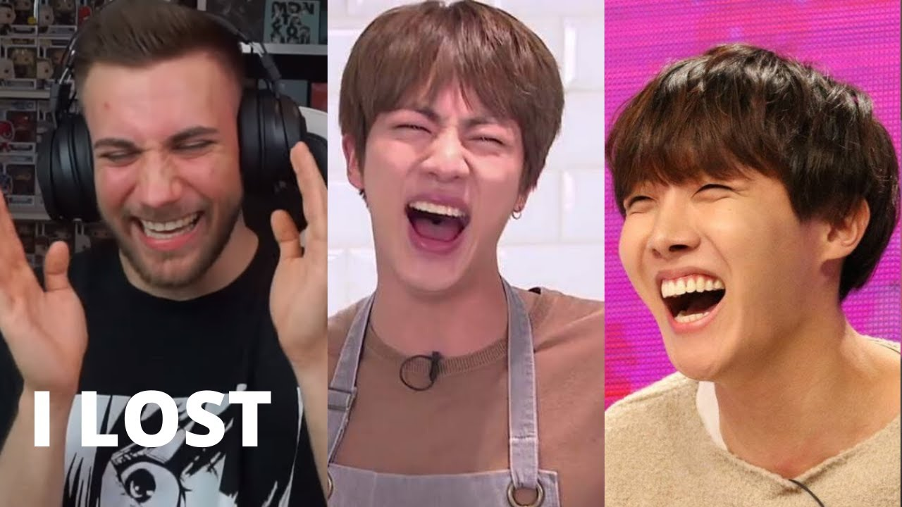BTS TRY NOT TO LAUGH CHALLENGE pt 2 (extreme ver.) - Reaction