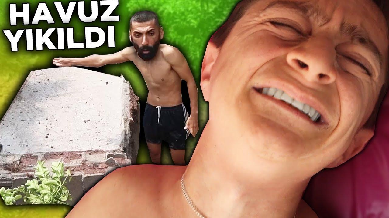 Download HAVUZ YIKILDI ALTINDA KALDIM ! HASTANELİK OLDUK !