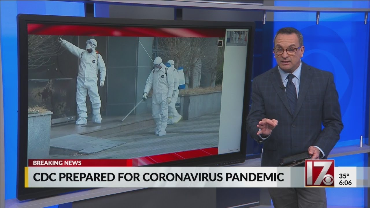 CDC prepared for coronavirus to be a pandemic