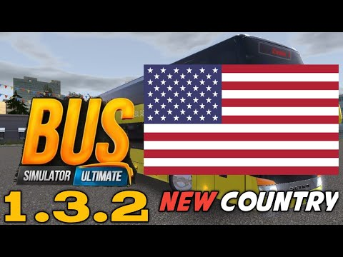 Bus Simulator Ultimate V1.3.2 | New Country America | From New York To Chicago | Android Gameplay |