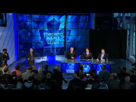 Brendan Shanahan Press Conference (Apr 14, 2014)
