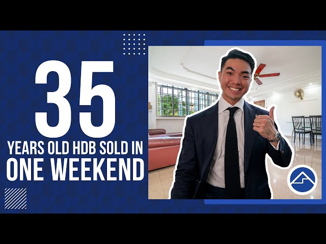 How we sold a OLD HDB in just ONE WEEKEND!! | Soldout Ep2
