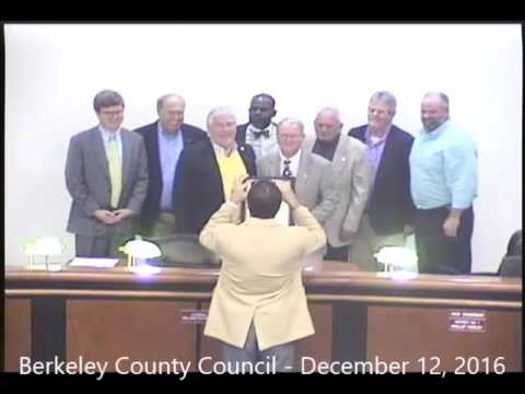 Berkeley County Council Meeting - December 12, 2016