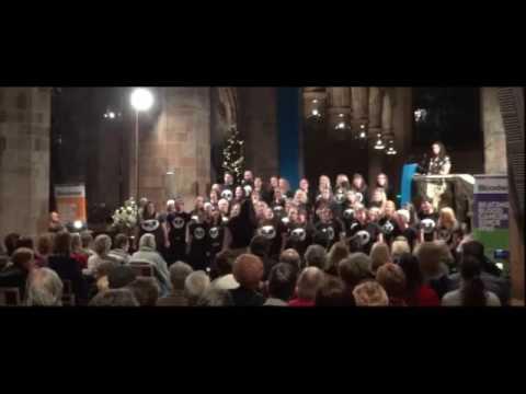 The Phoenix Choir - Rockin Robin / Edinburgh - Leith & St Martins