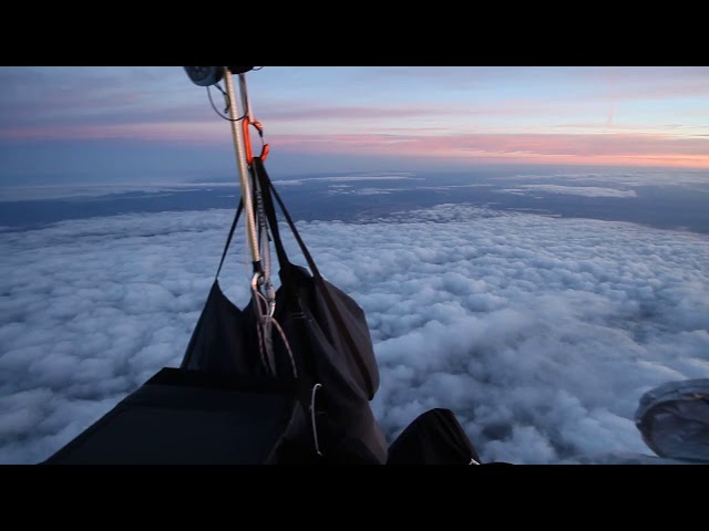 360 degree view from Sciboz/Tièche gas balloon