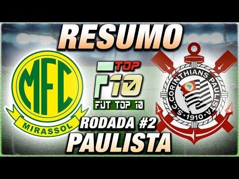 Mirassol x Corinthians Ao Vivo l Campeonato Paulista l Narração