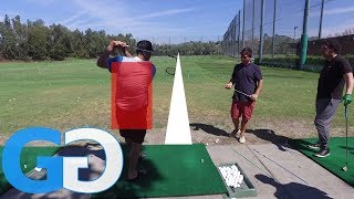 Golf Tips: Golf Iron Work - 1st time student