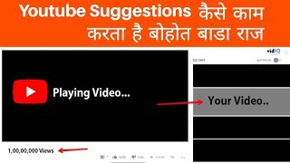 How Youtube Suggested Videos Work In Hindi 2019