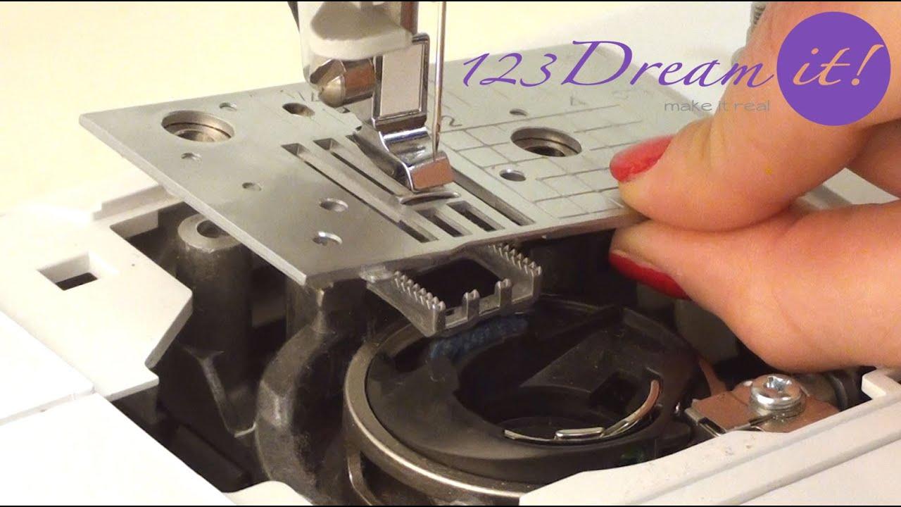 Mantenimiento de Máquina de Coser - Digital - YouTube