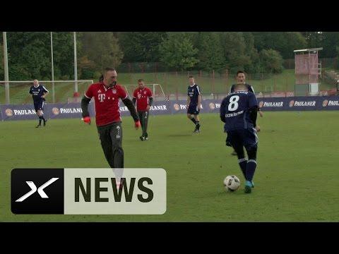 Amateur vernascht Franck Ribery mit eigenem Trick | FC Bayern München | Bundesliga
