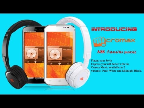 Micromax A88 Canvas Music Full Specification and Price