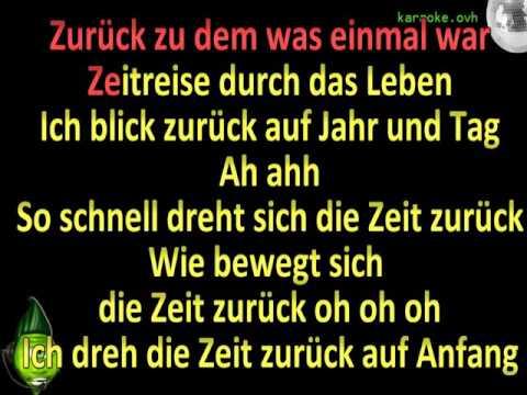 Zeitreise (MTV Unplugged) - Unheilig ft Helene Fischer (MIDI Karaoke)