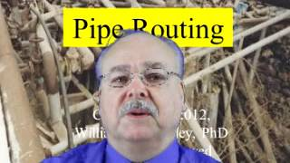 Piping Design Course Topic - Pipe Routing