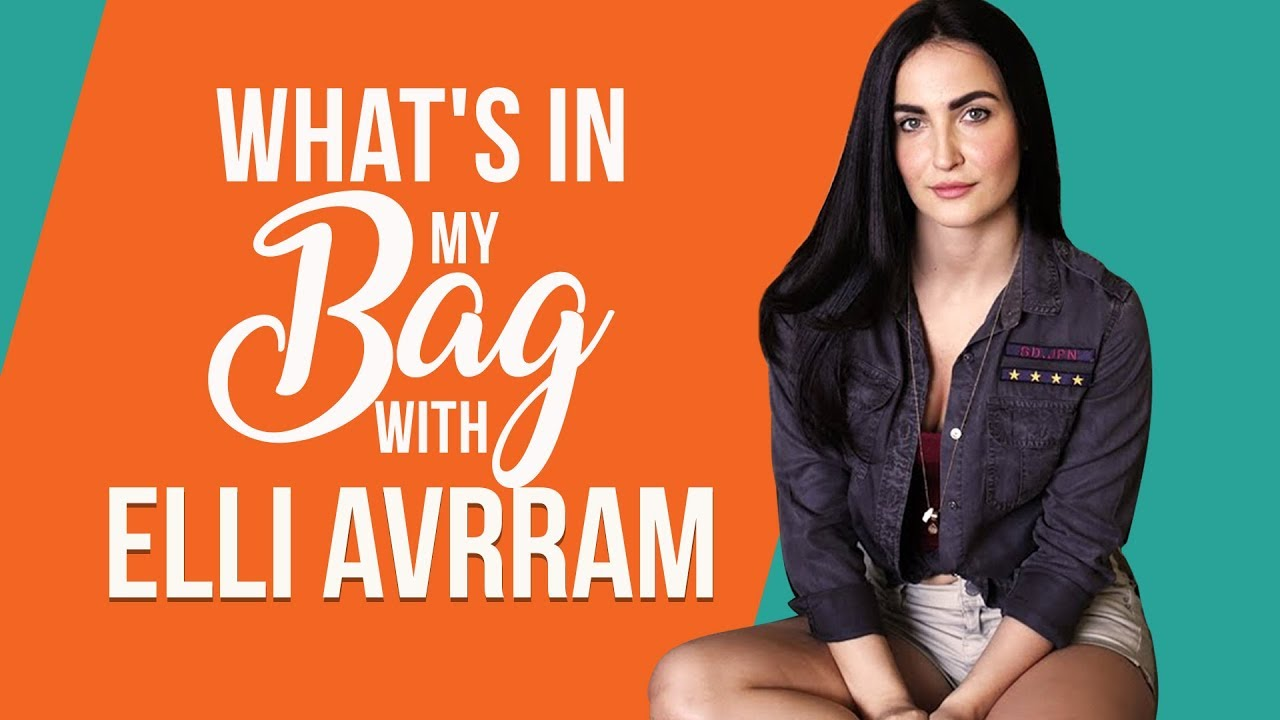 What's in my bag with Elli AvrRam | S01E07 | Pinkvilla | Bollywood | Fashion | Lifestyle