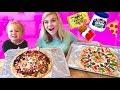 ULTIMATE PIZZA CHALLENGE! W/ Finn! // SoCassie