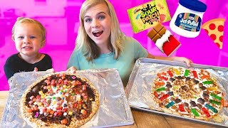 ULTIMATE PIZZA CHALLENGE! W/ Finn! // SoCassie