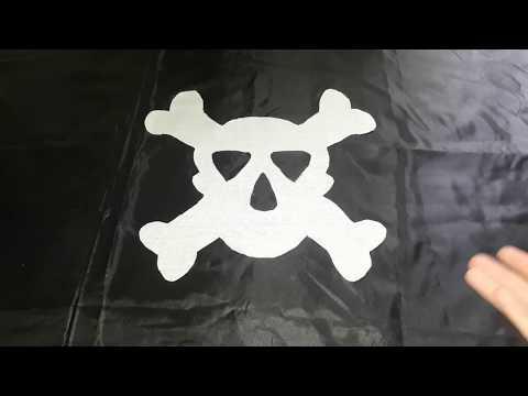 Как своими руками сшить пиратский флаг