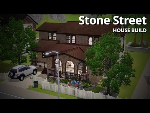 The Sims 3 House Building - Stone Street