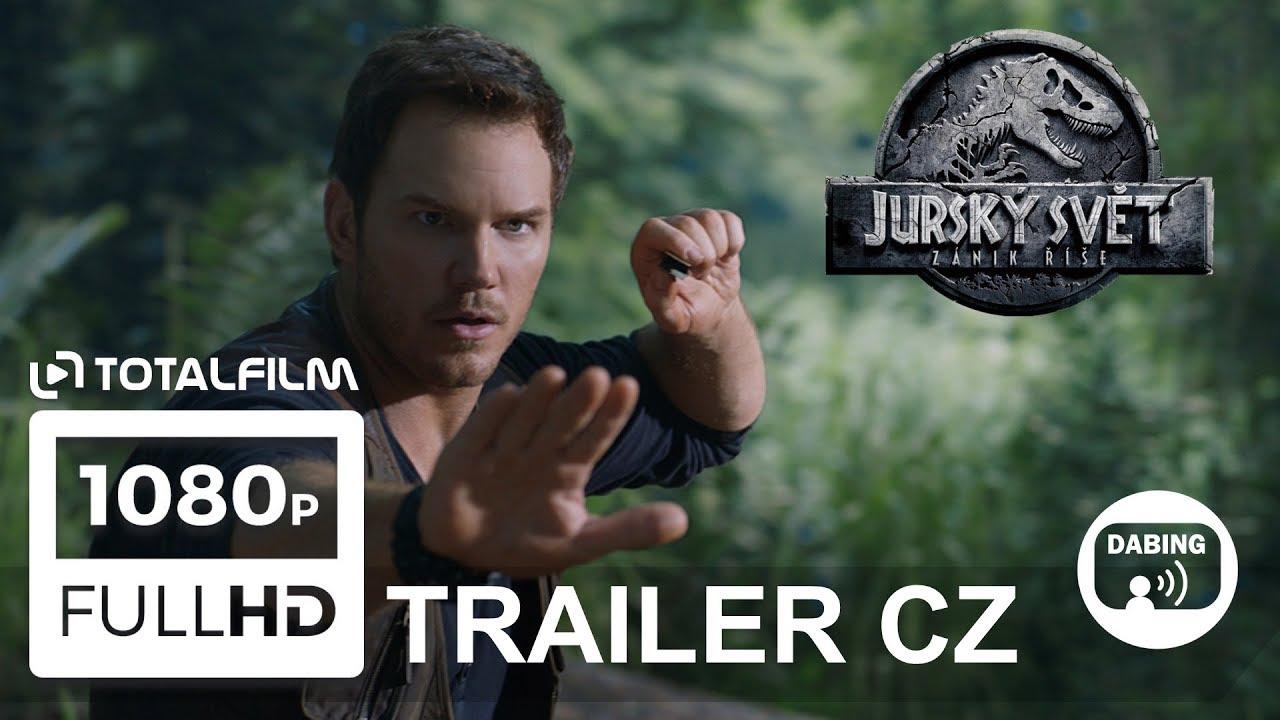 Jurský svět: Zánik říše (2018) nový trailer CZ dabing HD