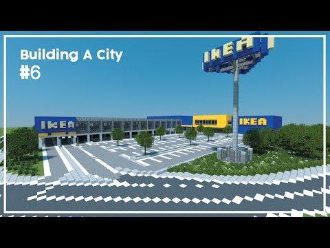 Building A City #6 // Ikea // Minecraft Timelapse