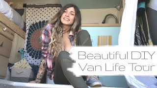 Beautiful Van Life Tour: 1 Month DIY Van Build