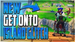 GLITCHES FORTNITE BR - NEW GET ONTO THE SPAWN ISLAND GLITCH AFTER PATCH (NEW SPAWN ISLAND GLITCH)