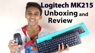 Logitech MK215 Wireless Keyboard and Mouse Unboxing and Review | Tech MS