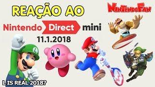 Minha Reação ao Nintendo Direct Mini de 11/1/2018